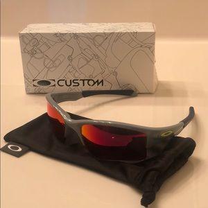 Youth Oakley Quarter Jacket Prizm Sunglasses